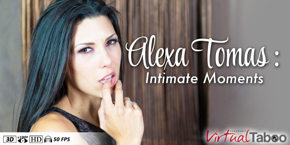 Alexa Tomas: Intimate Moments VR Porn