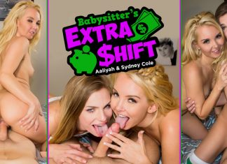 Babysitter's Extra Shift VR Porn