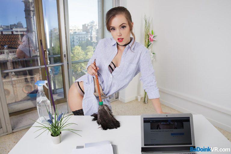 Working Her Butt Off VR Porn