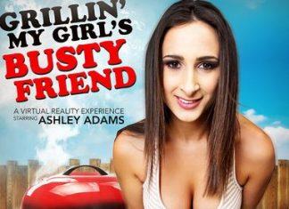 Ashley Adams in Grillin' My Girl's Busty Friend VR Porn