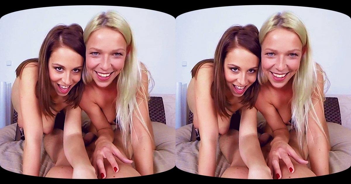 Antonia Sainz & Karol Lilien Hardcore VR Porn