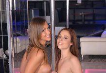 Strip-Club Honeys - Pussy Licking Pole Dancers VR Porn