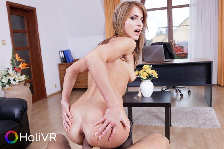Secretary 4PM VR Porn