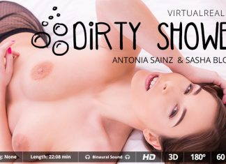 Dirty shower VR Porn