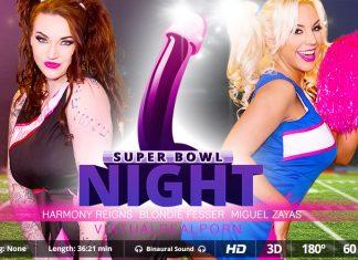 Super Bowl night VR Porn