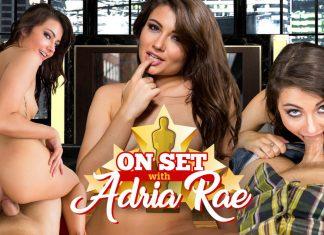 On Set with Adria Rae