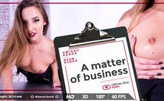 A matter of business