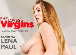 """Lena Paul in """"She Loves Virgins"""""""