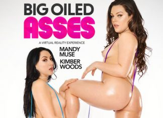 "Mandy Muse, Kimber in ""BIG OILED ASSES"""