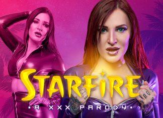 Starfire A XXX Parody