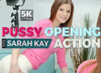 Pussy opening action