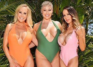 "Brandi Love, McKenzie Lee, Ryan Keely in ""Summer Vacation 11"""