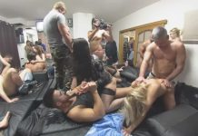 The Biggest Group Orgy Of All Times