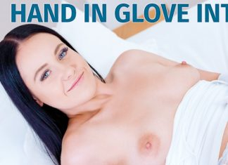 Hand in glove intensifies orgasm